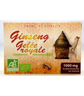 Gelée Royale Bio & Ginseng Bio 20 ampoules